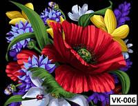 Картина на холсте по номерам VK 006  40x30см
