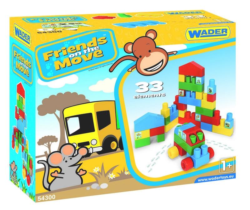 Конструктор Friends on the move 33 ел Wader (54300)