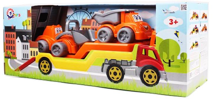 Игрушка Автовоз с набором Стройплощадка ТехноК (3930)