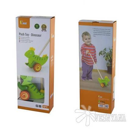 Игрушка-каталка Viga Toys Динозавр 50963, фото 2