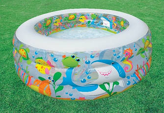 Надувной бассейн intex (58480) 152x56 см