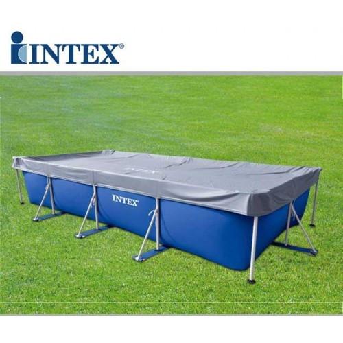 Тент Intex 460х226 см для прямоугольного бассейна (28039)