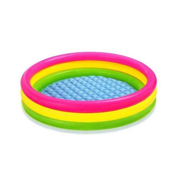 Дитячий надувний басейн Intex (57412) 114x114x25 см