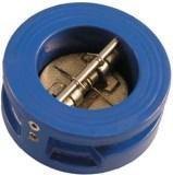 Клапан обратный подпружиненный двухстворчатый  ДУ 80