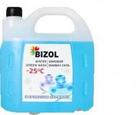 Омыватель стекла зимний Bizol WINTER SCREEN WASH -25C perfume 4л
