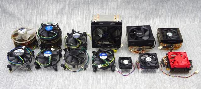 Битва титанов: cемь кулеров Intel против пяти AMD и плюс EVO 212