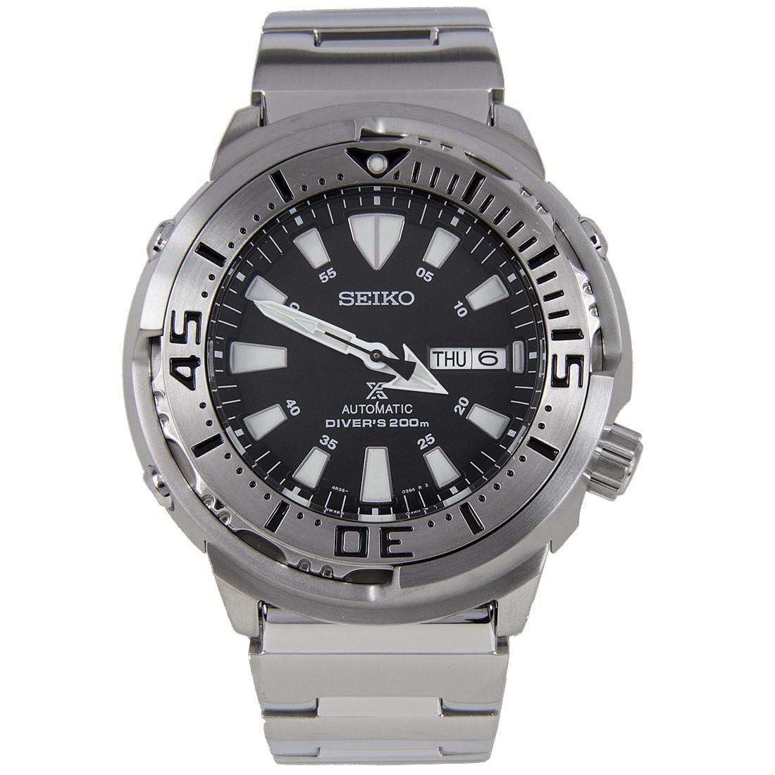 Часы Seiko Prospex SRP637K1 Automatic Diver's Baby Tuna 4R36 В