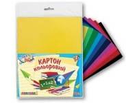 Набор цветного картона глянцевый 950254 1 Вересня