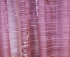 Тюль микровуаль плоска с цветами