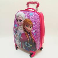 """Детский чемодан дорожный """"Josef Otten"""" Frozen-4, Холодное сердце на четырех колесах 520278"""