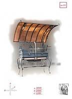Кованый мангал бизнес люкс (ма-10) киев