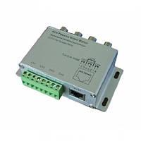 Приемо/передатчик видеосигнала по витой паре DL-404E