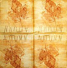 Салфетка декупажная Лист 1871