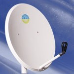 Спутниковая антенна(тарелка) 0,85м - ЧП  «Мир электроники» в Николаеве