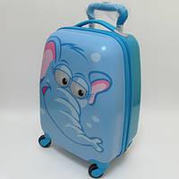 """Детский чемодан дорожный """"Josef Otten"""" Слоненок на четырех колесах 520280"""