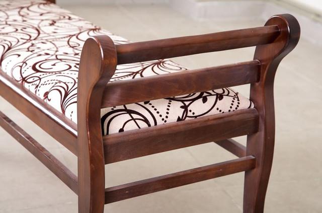 Банкетка Роял New деревянные спинки