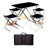 Комплект стол+4 стула Пикник в чехле