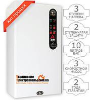 Электрокотел ТЕНКО 30 кВт 380 В с насосом, расширительным баком и двухступенчатой системой безопасности