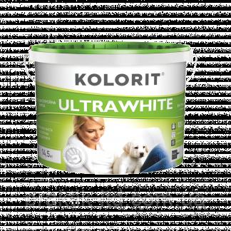 Фарба Колорит ULTRAWHITE / Ультравайт 10л