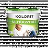 Краска Колорит ULTRAWHITE / Ультравайт 10л
