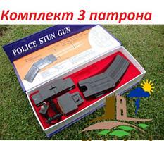Электрошокер пистолет Taser с сиреной и лазерным прицелом.