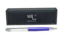 Ручка шариковая Wilhelm Buro WB108 поворотная, фиолетовая (в подарочном футляре)