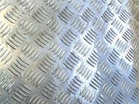 Лист алюминиевый рифленый 5.0 мм
