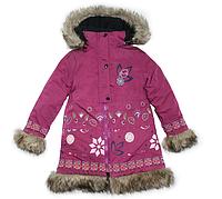Куртка зимняя для девочки FOLK