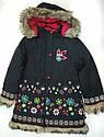 Детская зимняя куртка для девочки FOLK  (Quadrifoglio, Польша), фото 2