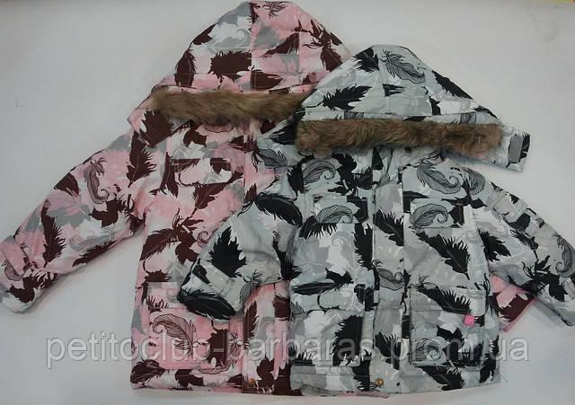 Куртка зимняя для девочки ТЕА