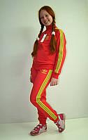 """Трикотажный спортивный костюм """" adidas """" для девочек от 104 до 160 роста"""