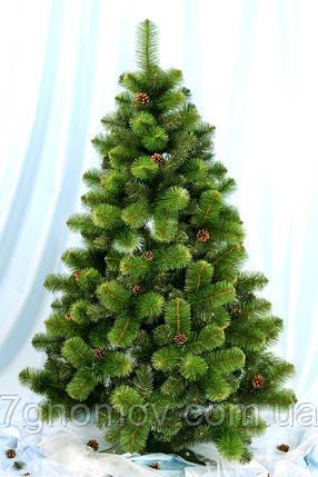 Ель искусственная зеленая 1.1 метра Каролина, фото 2