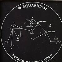 Подарок Водолею — панно с изображение созвездия Водолея