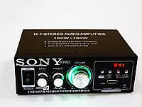 Усилитель Звука Sony AK-699D FM USB Караоке 2x180 Вт, фото 1