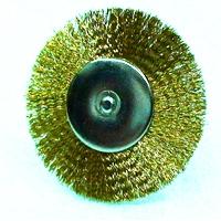Щетка для гравера (бормашин) 40мм (латунь)