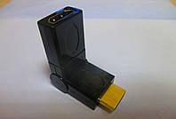 Переходник microHDMI (папа) - HDMI (мама) 360°