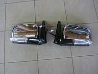 Зеркала заднего вида (хромированные) Mitsubishi Pajero Wagon IV