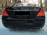 "Бампер задний ""AMG"" Mercedes S-class W221"