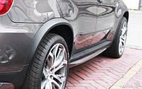 Накладки на арки BMW X5 E70 (стекловолокно)