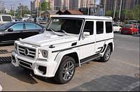 Комплект обвеса в стиле WALD на Mercedes G-class W463