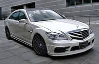 Обвес WALD на Mercedes W221
