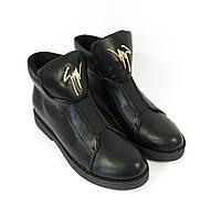 Черные ботиночки осень2016