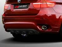 Юбка заднего бампера CarBodyDynamics на BMW X6 E71