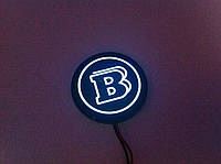 Эмблема с подсветкой в юбку Brabus для Mercedes G-class W463
