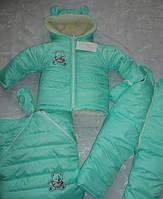 Детский зимний комбинезон -трансформер