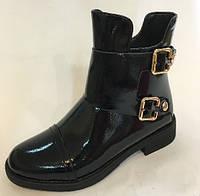 Лаковые подростковые ботинки для девочки ТМ Bi-Ki 37 38