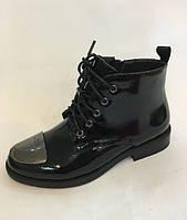 Лаковые подростковые ботинки для девочки ТМ Bi-Ki  35
