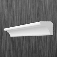 Плинтус потолочный багет Киндекор M-15  (15*15)