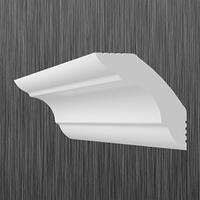 Плинтус потолочный багет Киндекор K-45  (40*40)