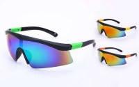 Велоочки солнцезащитные BD7901 (пластик, акрил, цвета в ассортименте)